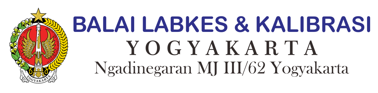 Balai Laboratorium Kesehatan dan Kalibrasi Yogyakarta