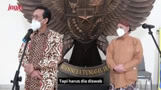 Gubernur DIY, Sri Sultan Hamengku Buwono X, mengundang jajaran Forkopimda DIY …