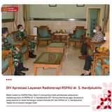 Wagub DIY menerima kunjungan Marsma TNI dr. M. Rowi, SpS pada Jum'at (07/05) d…
