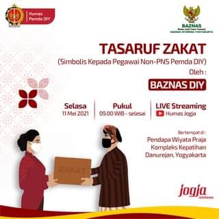 BAZNAS DIY akan menyelenggarakan kegiatan Tasaruf Zakat dalam rangka Idulfitri…