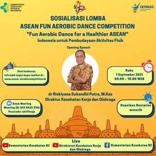 #Healthies   Dalam rangka mendukung penyelenggaraan ASEAN Fun Aerobic Dance Co…