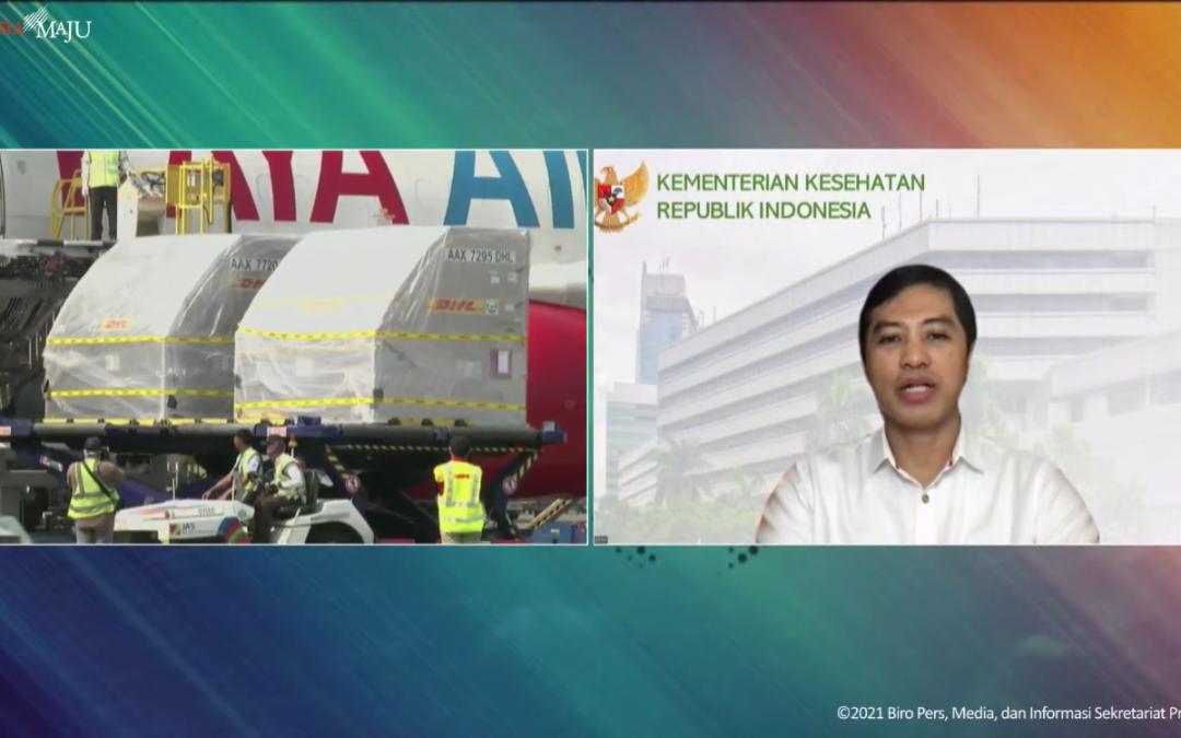 Indonesia Dapat Tambahan 1,2 Juta Vaksin Pfizer