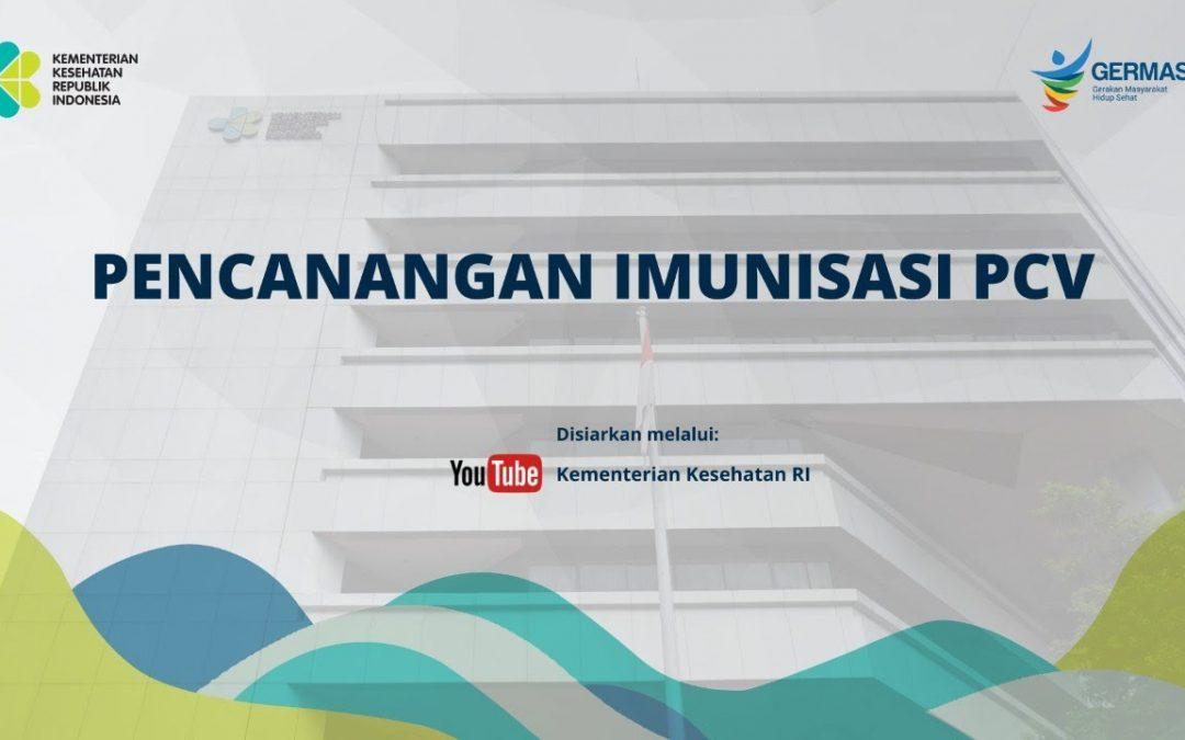 Pencanangan Imunisasi PCV di Kabupaten Gresik, Jawa Timur