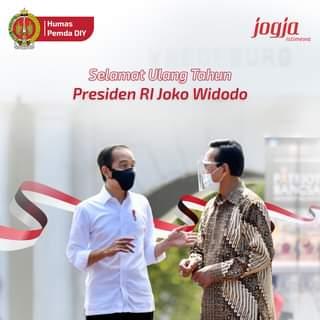 Selamat Ulang Tahun ke-60 kepada Presiden Republik Indonesia,  Bapak Ir. H. Jo…
