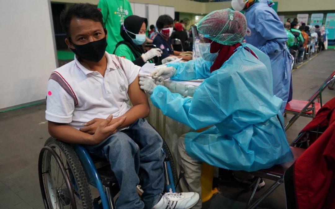 Yogyakarta Jadi Tempat Pertama Sentra Vaksin Ramah Disabilitas – Sehat Negeriku