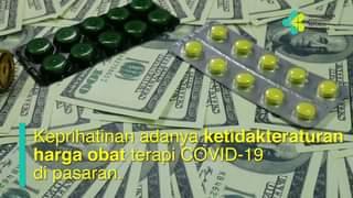Pemerintah telah menetapkan HET obat yang digunakan dalam terapi COVID-19.  Pe…