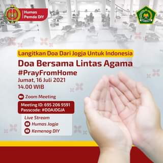 Langitkan Doa Dari Jogja Untuk Indonesia  Doa dari lintas agama dan tradisi me…