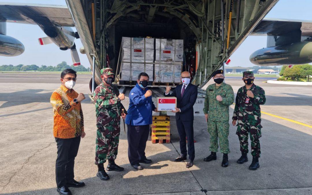 Bantu Hadapi COVID-19, Singapura Kirim Bantuan Ventilator dan Oksigen Ke Indonesia – Sehat Negeriku