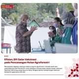 Menyelipkan kegiatan vaksinasi dalam program agroforestri   menjadi salah satu…