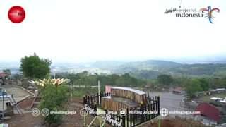 Pada hari Kamis (16/9) destinasi wisata Taman Tebing Breksi di Sambirejo, Pram…