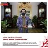 Gubernur DIY, Sri Sultan Hamengku Buwono X menegaskan akan terus mendorong imp…